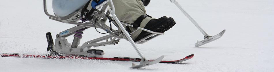 スキー競技の写真