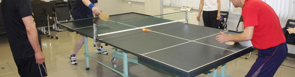 卓球競技の写真