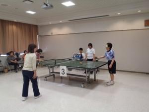 卓球(サウンドテーブルテニス)