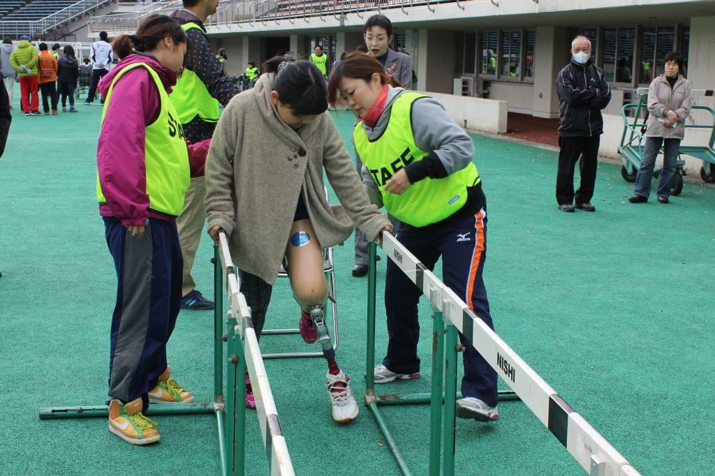 障がい者スポーツボランティア