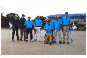 米沢市身体障がい者福祉協会 グラウンド・ゴルフクラブ石楠花会